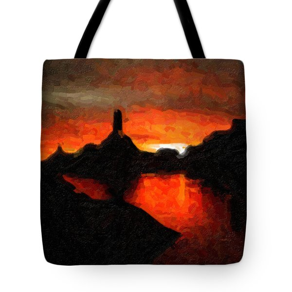 Powell Sunset Tote Bag