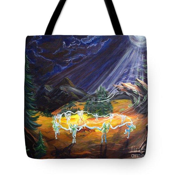 Power Dance Tote Bag by Joyce Jackson