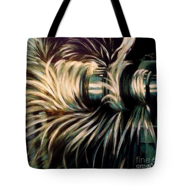 Power Tote Bag by Karen  Ferrand Carroll