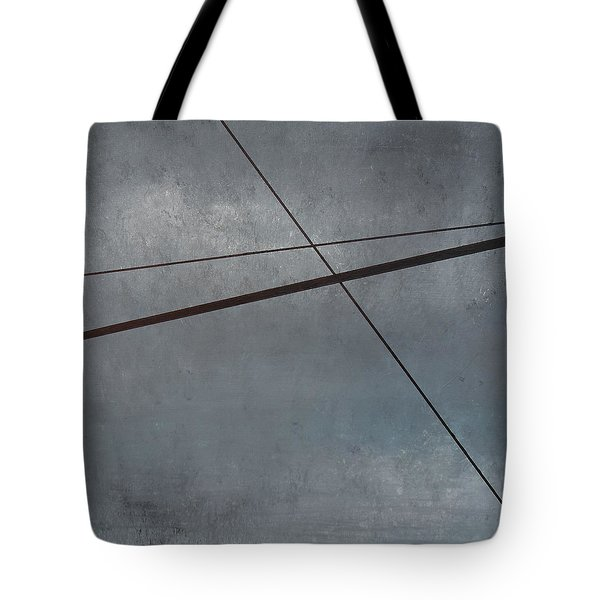 Power Lines  05 Tote Bag by Ronda Stephens