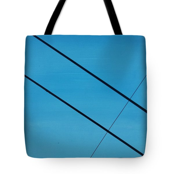 Power Lines 07 Tote Bag by Ronda Stephens