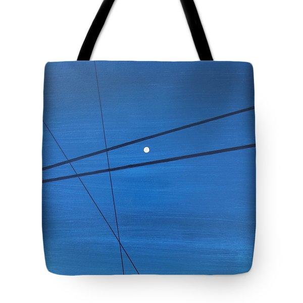 Power Lines 09 Tote Bag by Ronda Stephens