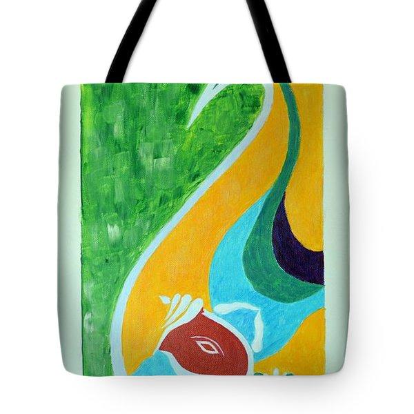 Power Of Aum Tote Bag
