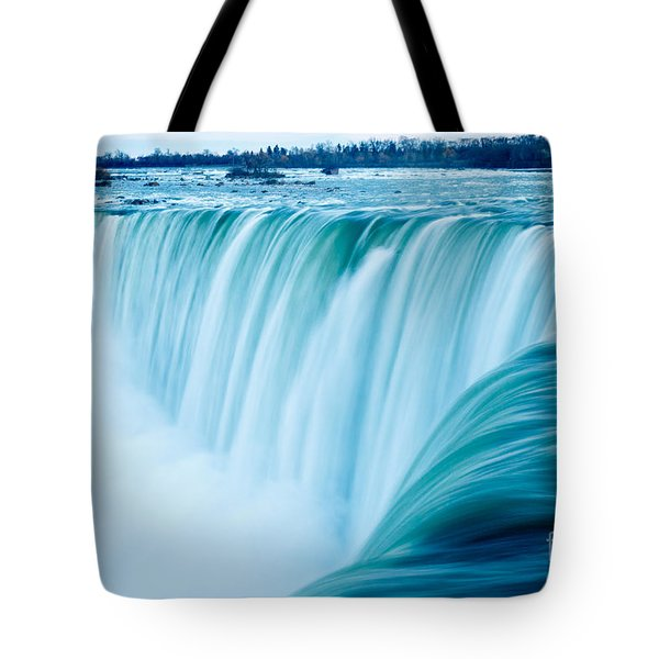 Power Of Niagara Falls Tote Bag by Peta Thames