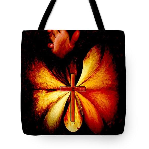 Power Of Prayer Tote Bag