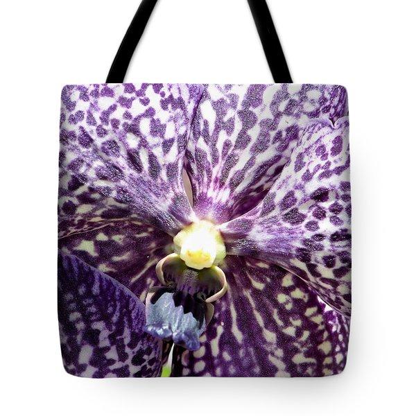 Power Of Purple Tote Bag by Karen Wiles
