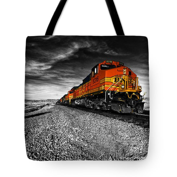 Power Of The Santa Fe  Tote Bag by Rob Hawkins