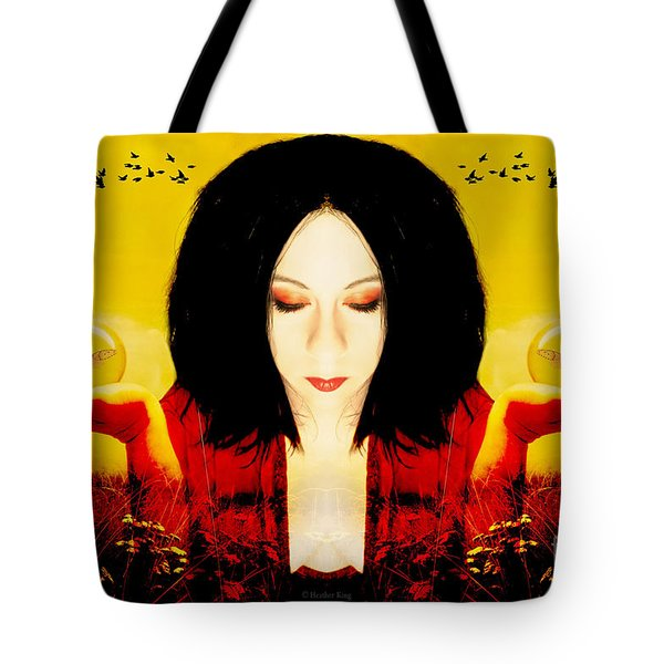 Power Over The Past Tote Bag by Heather King