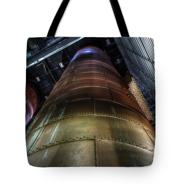 Power Stack Tote Bag