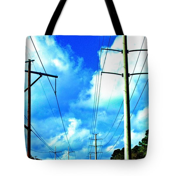 Power To The Infinity Tote Bag