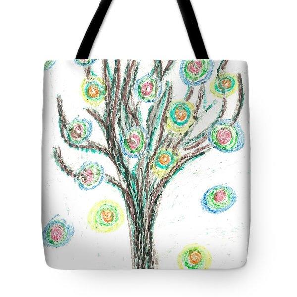 Power Tree Tote Bag