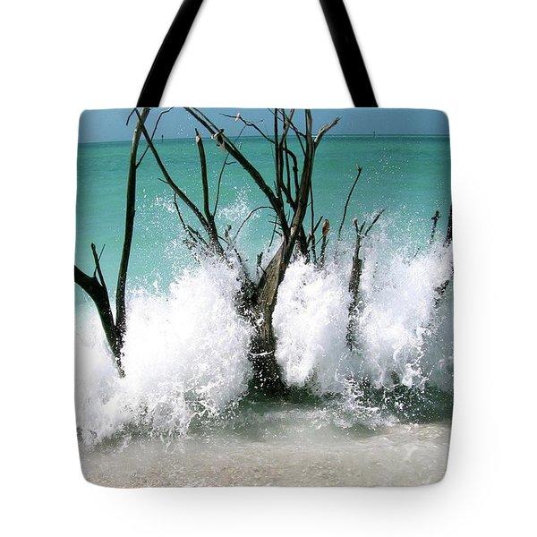 Power Wave  Tote Bag by AR Annahita