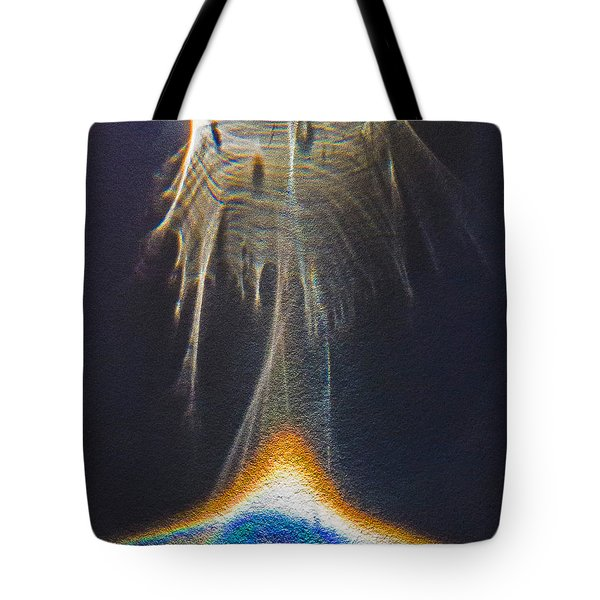 Powered By Light Tote Bag
