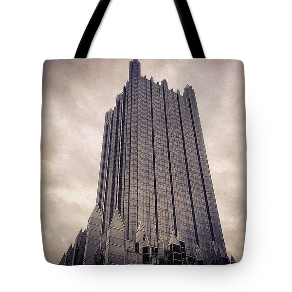 Downtown Castle Tote Bag