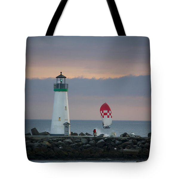 pr 200 - The Sailboats Tote Bag by Chris Berry