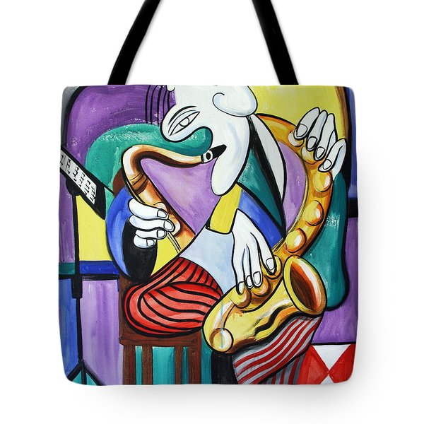Practice Makes Perfect Tote Bag by Anthony Falbo