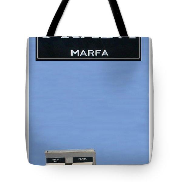 Prada Marfa Texas Tote Bag by Jack Pumphrey