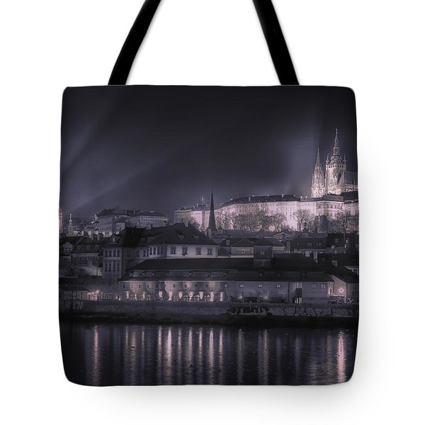Prague Castle And St Nicholas Tote Bag