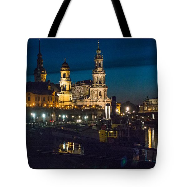 Dresden In Evening Tote Bag
