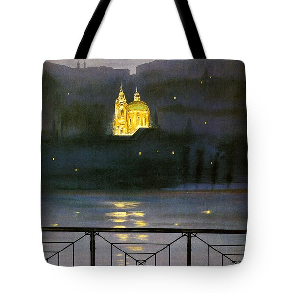 Prague Tote Bag by Georgia Fowler