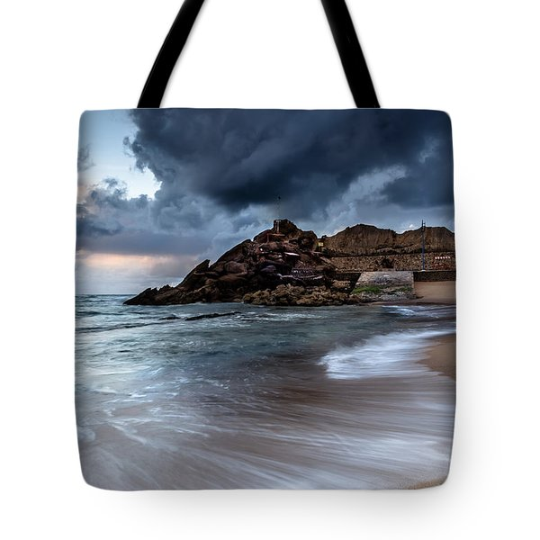 Praia Formosa Tote Bag by Edgar Laureano