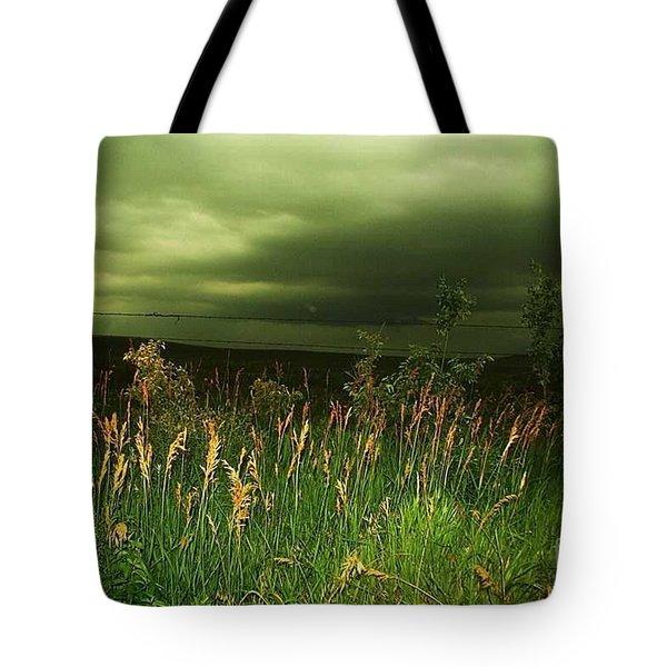 Prairie Clouds Tote Bag