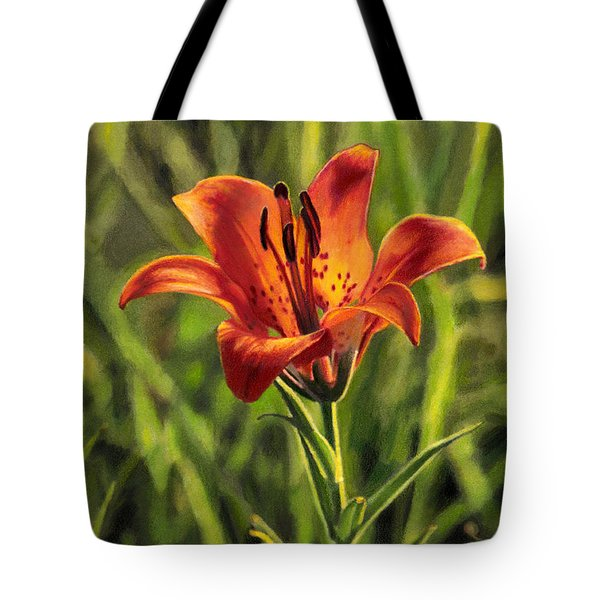 Prairie Lily Tote Bag