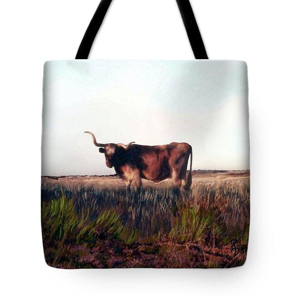 Prairie Longhorn Tote Bag