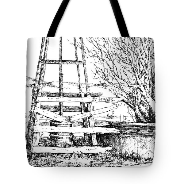 Prairie Song Ranch Water Department Tote Bag