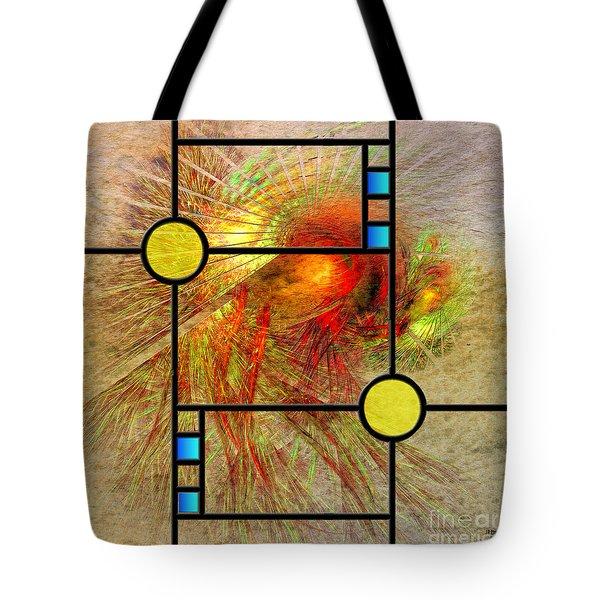 Prairie View - Square Version Tote Bag by John Robert Beck