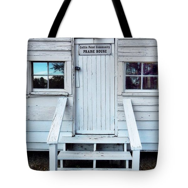 Praise House Tote Bag