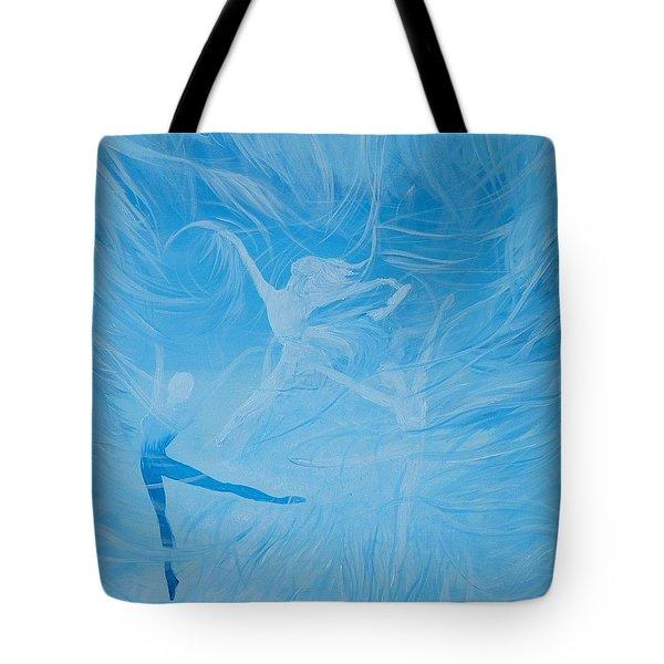 Praise The Lord Dance Tote Bag by Susan Harris