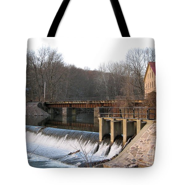 Prallsville Mill Tote Bag