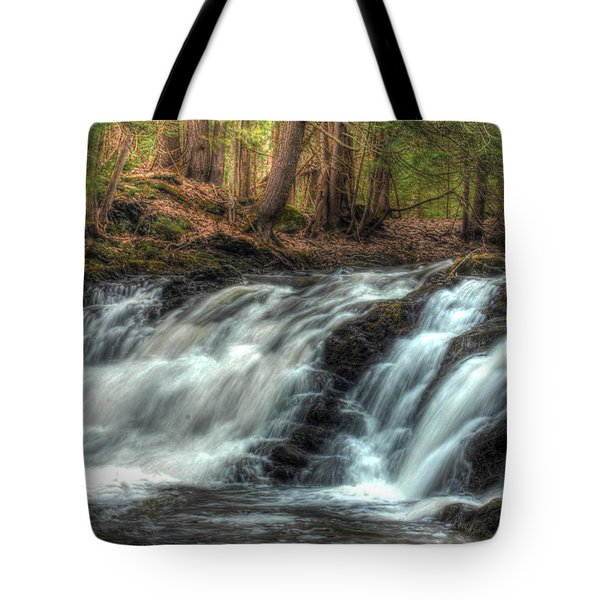 Pratt Brook Falls Tote Bag