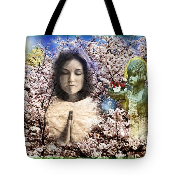 Pray For Peace Tote Bag