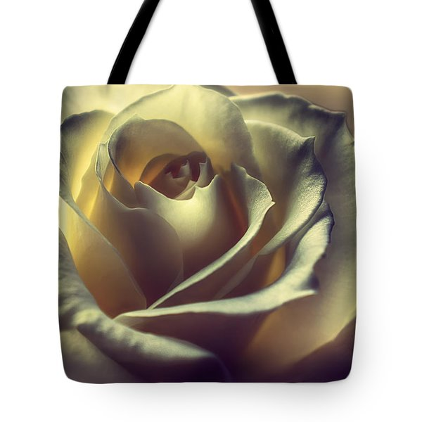 Prayer Candle Rose Tote Bag