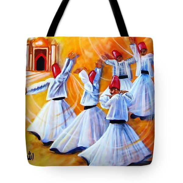 Prayer Circles Tote Bag by Carol Allen Anfinsen