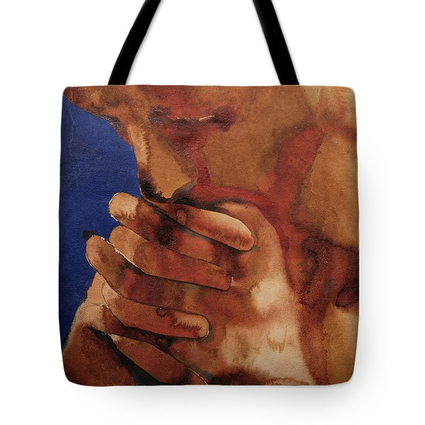 Prayer Tote Bag by Graham Dean
