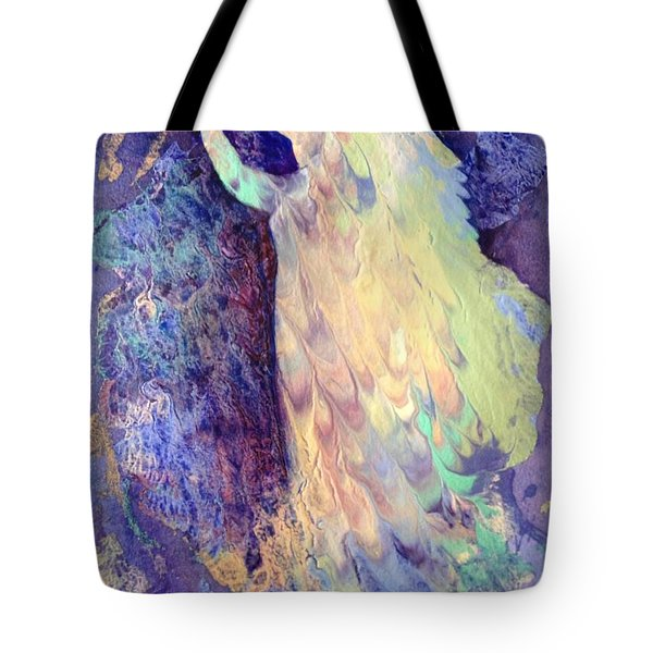 Prayer Tote Bag by Marilyn Jacobson