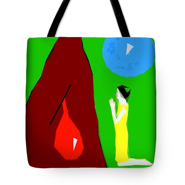 Praying For A Miracle Tote Bag by Patrick J Murphy