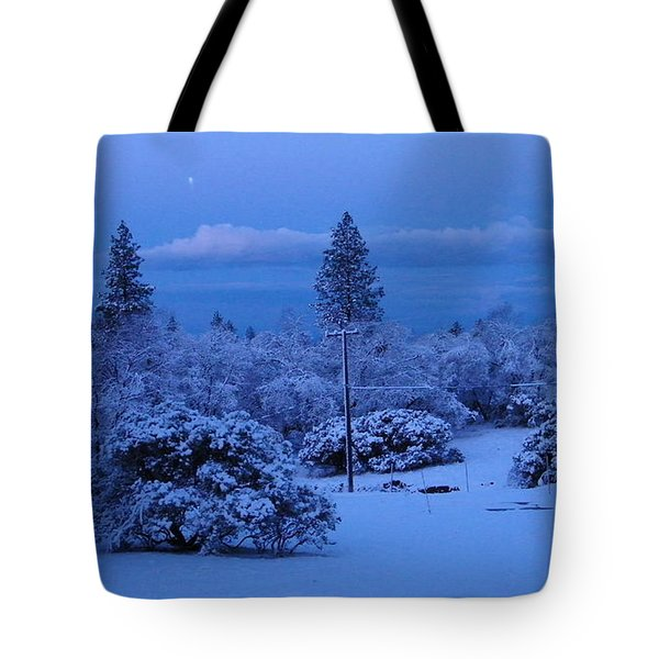 Pre-dawn Light Tote Bag