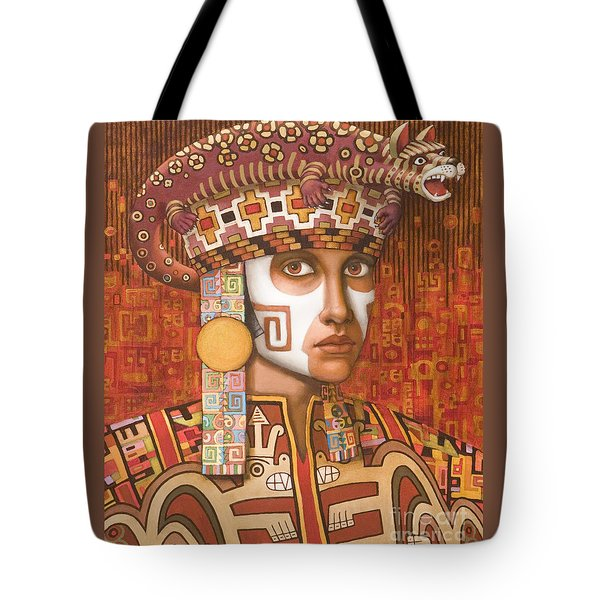 Pre-inca 1 Tote Bag by Jane Whiting Chrzanoska