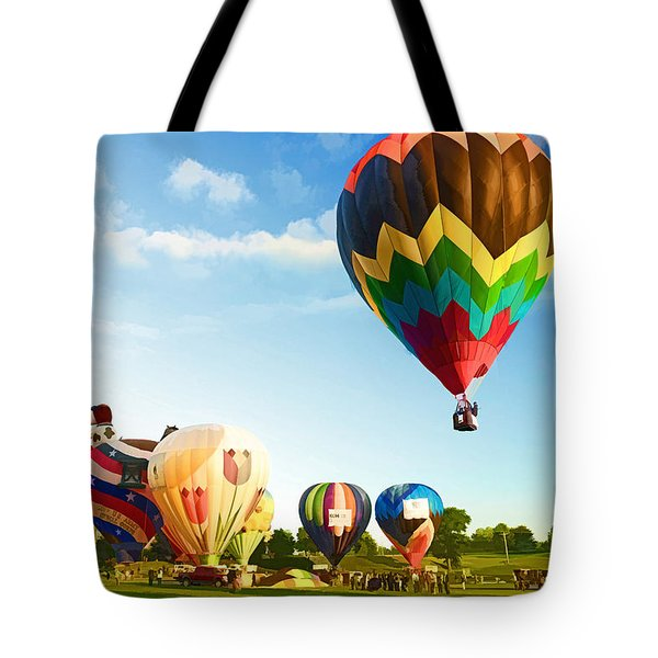Preakness Balloon Festival Tote Bag