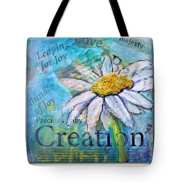 Precious Baby Creation Tote Bag