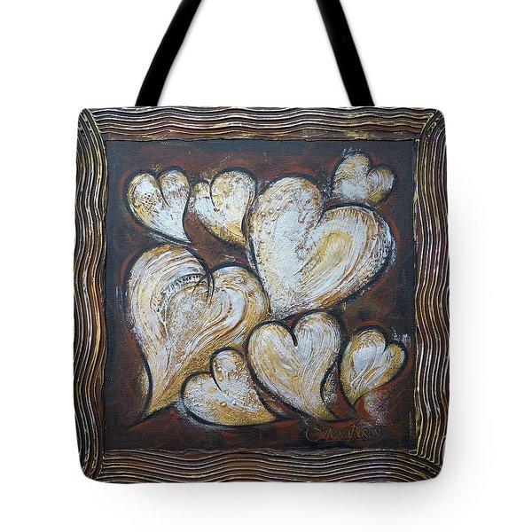 Precious Hearts 301110 Tote Bag by Selena Boron