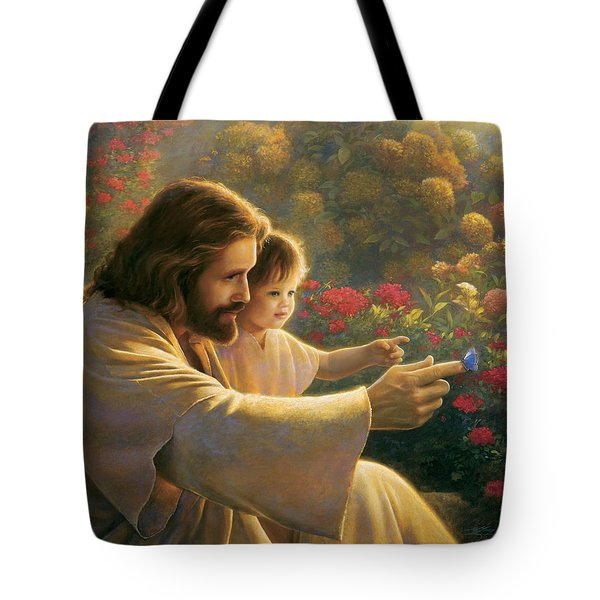 Precious In His Sight Tote Bag