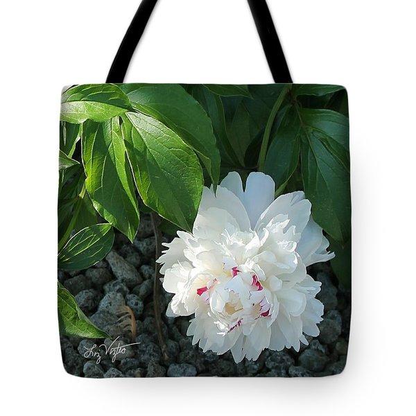 Precious Peony Tote Bag