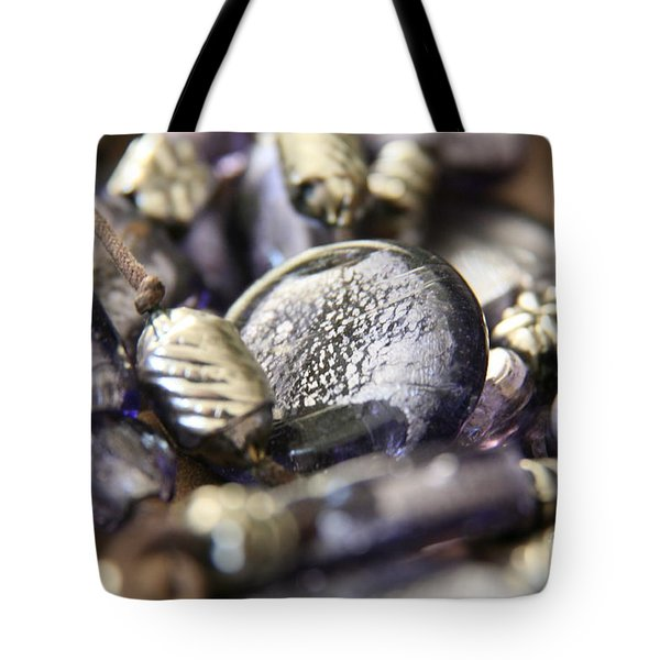 Precious Purple Tote Bag by Lynn England