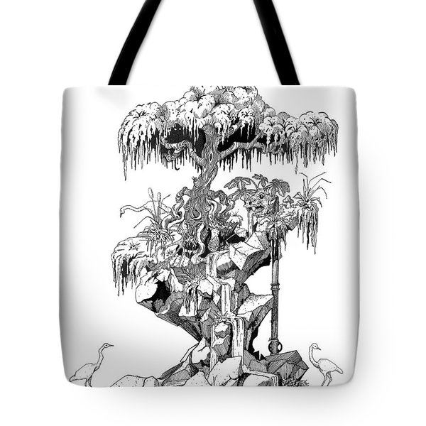 Ptactvo Tote Bag by Julio Lopez