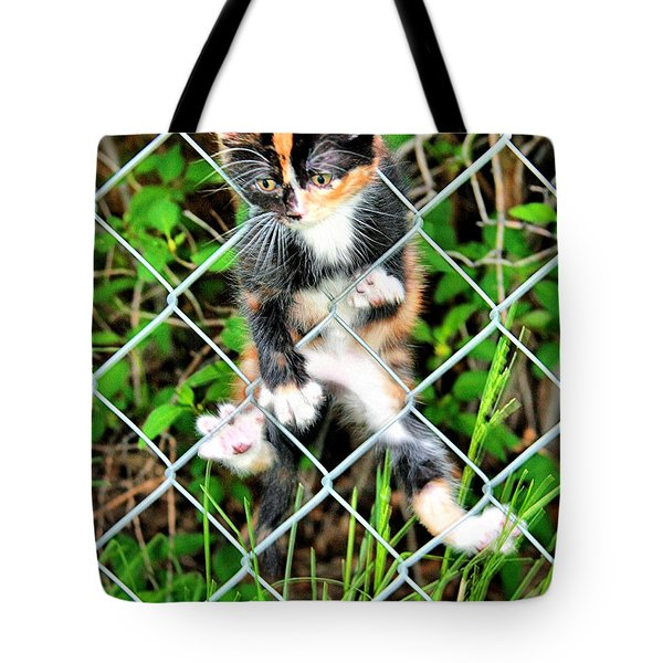 Predicament Tote Bag by Steven Reed